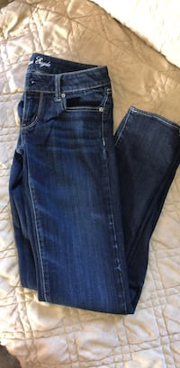 american eagle jeans stretch  size  4