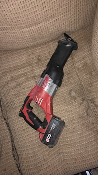 black and red Milwaukee reciprocating saw Yuma, 85364