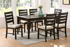 Brand New 7pc Dining Table Set