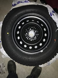 Winter tires with rims/never used Markham, L6E 0C5