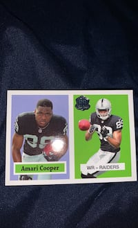 Amari Cooper Collector card