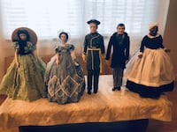 Collectible Gone with the Wind Figures. Bayville, 08721