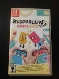 Snipper clips nintendo switch game Vancouver
