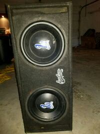 Two 10in SUBWOOFERS W/built in Amp Pasco, 99301