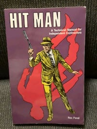 book. HIT MAN  East Haven, 06512