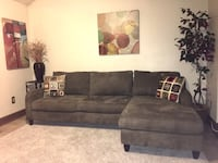 Brown Macy's Sofa Sectional-Delivery Available for $25 Bowie, 20721