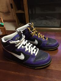 Nike id Ravens shoes Hedgesville, 25427