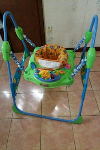 baby's green and blue jumperoo Elizabeth, 07201