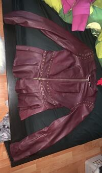 Size 2 Marciano real leather jacket Surrey, V3R