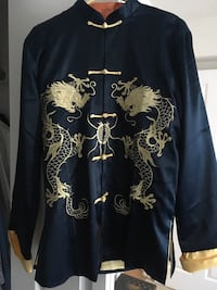 Chinese Traditional 100% Silk Changshan  Bristow, 20136