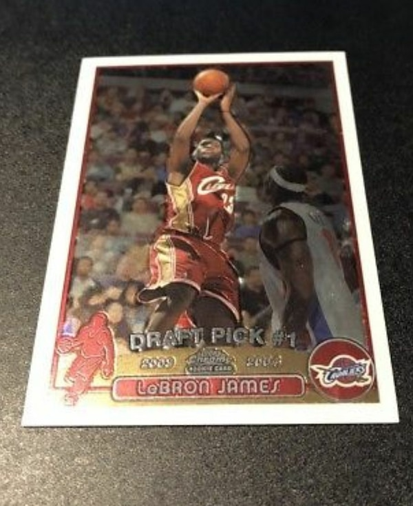 Lebron James Rookie Card Topps Chrome
