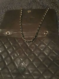 quilted black leather tote bag Brooklyn, 11222