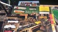 Assorted die-cast Train and track  Toronto, M9V 1Y8