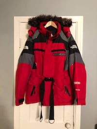 North Face coat with fur hood size M
