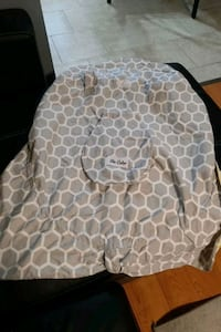 Baby seat cover reversible