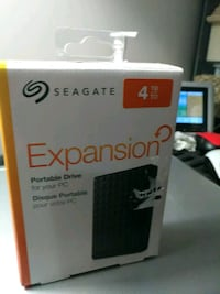 4tbh Seagate Expansion Portable hard drive