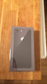 Svart iphone 8 plus box