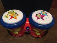The Wiggles electronic bongo drums  546 km