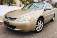 $3900 FIRM • 2003 Honda Accord • Leather • Heated seats • Sunroof Hyattsville