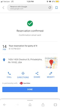 Valentines Day 2019 Reservation at Del Frisco's in Philly  Sewell