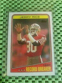 1987 Jerry Rice Record Breaker Most TD Receptions  2244 mi
