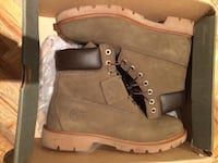 Green timberland taille 8 homme