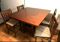 New!! 5pc Wooden Dining Set • Free Financing
