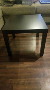 square black wooden side table Calgary, T3C 3K4