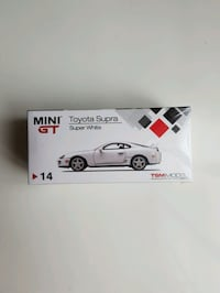Toyota Supra Diecast Scale Model Toy Car