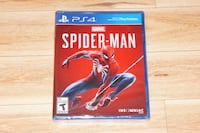 PS4 Marvel Spider Man - Brand New Sealed Burnaby