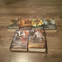 The mortal instruments series Guelph, N1E 6M2
