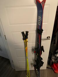 Skis with poles and boots Calgary, T3N 0V8