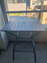 Hampton Bay White Rock Bistro Tall Patio Table Vancouver, V6Z 3B7