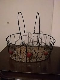 black metal basket Huntington, 25701