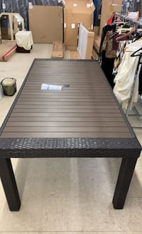 OUTDOOR DECO PATIO TABLE NO CHAIRS