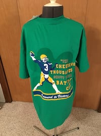 """Notre Dame vintage """"the shirt"""" brand new"""