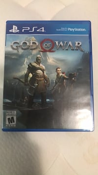PS4 God Of War Game  Toronto