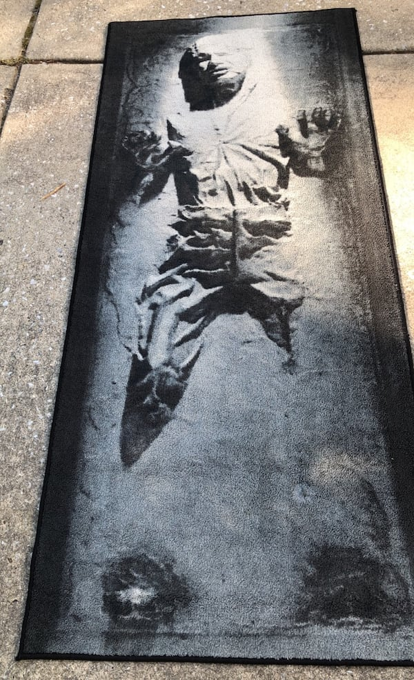 Han Solo In Carbonite Rug d0abfe30-aac9-4a99-a3eb-17f07bf339a5