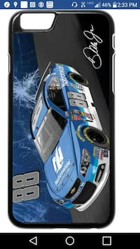 blue Dale Earnhardt 88 car iphone case screenshot