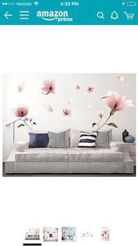 Flower decals negotiable Flower Stickers / Wall Art.....