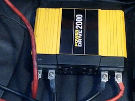Power supply for semi trucks and motor homes