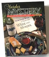 NEW Murder Mystery Dinner Party Game, 6-8 Players Wesley Chapel