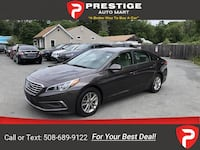 2016 Hyundai Sonata 2.4L SE sedan Brown