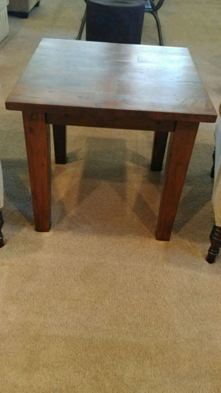 used crate and barrel square end table for sale in brentwood letgo rh gb letgo com