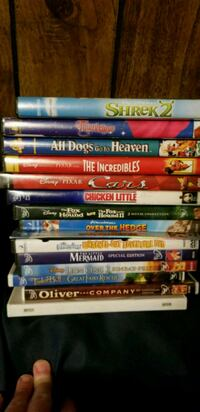 assorted DVD movie case lot Conroe, 77385