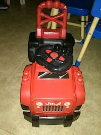 red and black ride on toy car Hamilton, L8L 5H7