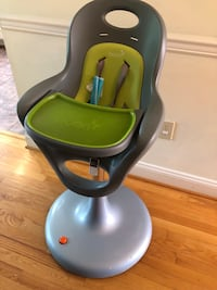 Boon Flair Pneumatic Pedestal High Chair in Green Arlington, 22213