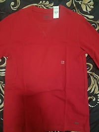 EXPRESS RED WAFFLE LONG SLEEVE Queens, 11369