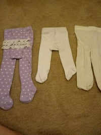 Baby girl footed long johns and stocking 0-12 mont 573 mi