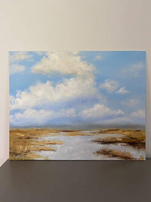 Seascape oil painting 8x10 inch 7fe3e209-9308-4b01-985d-a9a27d6984f3